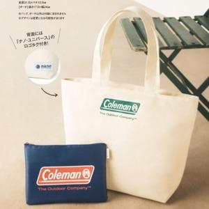 日本In Red杂志 3月刊 送Coleman 子母帆布包两件套