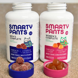 金盒特价!SmartyPants品牌软糖保健品专场 低至7折