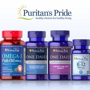 Puritan's Pride普瑞登官网精选保健品买1送2/买2送3促销