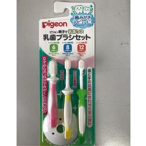 pigeon 贝亲 训练牙刷套装(6-12个月)