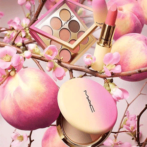 MAC 2018春节蜜桃限量彩妆上市