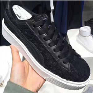 限US7.5码+!PUMA彪马 Basket Platform Fo 女款休闲运动鞋