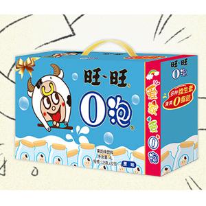 WantWant旺旺 O泡果奶礼盒 草莓味/原味 125ml*32盒 *4件