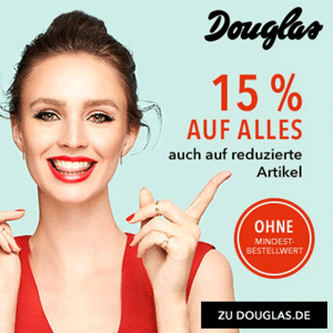 德国美妆网站Douglas全场美妆个护85折促销