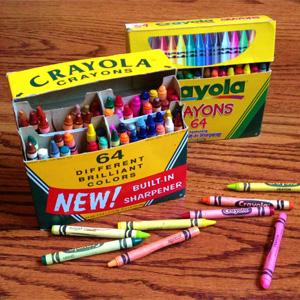 Crayola绘儿乐 彩色蜡笔 多款可选