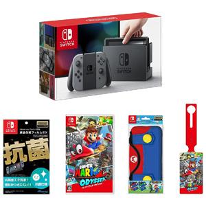 限定100台:Nintendo任天堂 switch《马里奥:奥德赛》同捆版主机套装