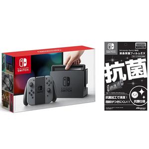 Nintendo任天堂 Switch 游戏机+液晶保护贴套装