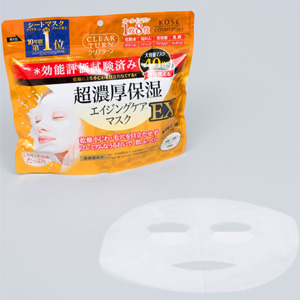 KOSE高丝 超浓厚保湿面膜EX 40片 抗衰老淡化细纹
