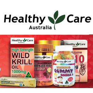 澳洲CW大药房 healthy care保健品 低至65折