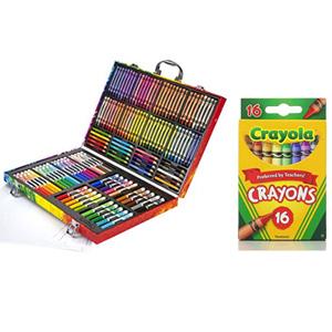 组合无税!绘儿乐创意礼盒+绘儿乐彩色蜡笔套装16支装*6盒装