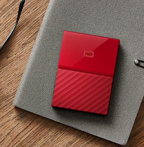 WD西部数据 My Passport 4TB 2.5英寸移动硬盘