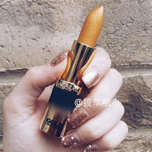 降价!L'Oréal欧莱雅 纷泽琉金唇膏Pure Gold金色