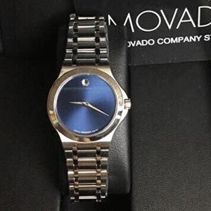 Movado摩凡陀Defio系列0606335/0606336情侣时装腕表