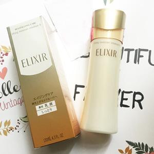 日亚资生堂 ELIXIR怡丽丝尔化妆水、乳液补货小集合