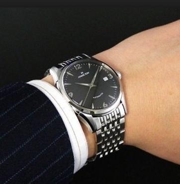 HAMILTON 汉米尔顿Timeless Classic Thin-O-Matic H38715131 男士机械腕表