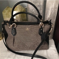 Coach蔻驰Exploded Rep Colette Carryall女士托特包