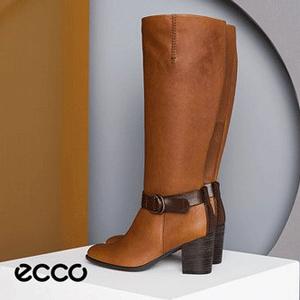 ECCO爱步 Shape 55 型塑55 女士长筒靴