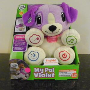 LeapFrog英语互动毛绒小狗玩具