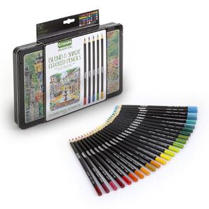 Crayola绘儿乐 Signature系列 50色专业彩色铅笔礼盒装