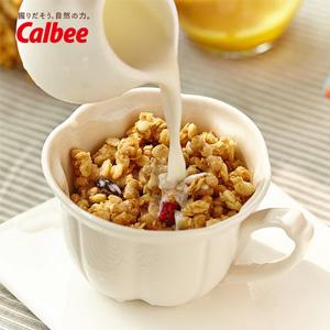 Calbee卡乐比 即食水果冲饮麦片800g