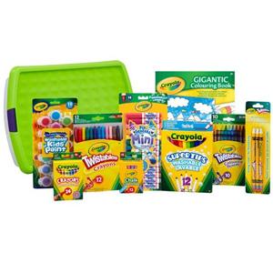 降价!Crayola绘儿乐画笔玩具专场 低至50元