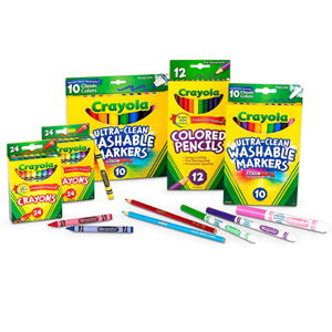 Crayola绘儿乐 Back To School 绘画套装