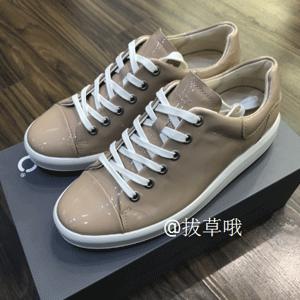 ECCO爱步 Soft 9 柔酷9号 女士漆皮系带休闲鞋