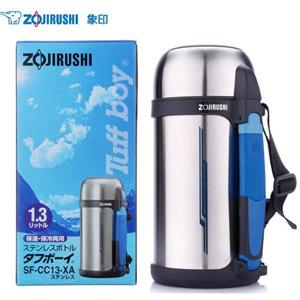 Zojirushi象印 SF-CC13-XA不锈钢真空保温瓶/旅行壶1.3L