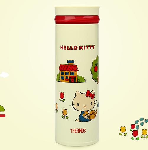 THERMOS 膳魔师保温杯 Hello Kitty款 JNO-350 350ml +凑单品