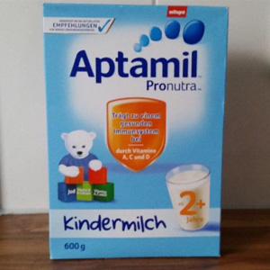 补货!Aptamil爱他美 幼儿配方奶粉1+/ 2+ 600g*5盒装 两款可选