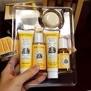 Burt's Bees小蜜蜂 婴儿护理5件套装