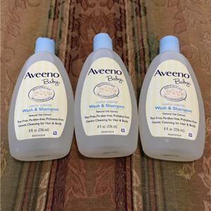 Aveeno艾维诺 婴儿洗发沐浴便携装 236ml*2瓶装