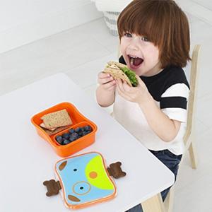 Skip Hop动物园系列 儿童午餐盒/零食盒