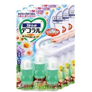 小林制药 小熊造型 马桶凝胶除臭清香剂3组装 两款可选