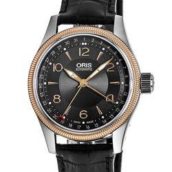 ORIS豪利时 Big Crown飞行系列 01 754 7679 4334-07 5 20 76FC男士机械腕表