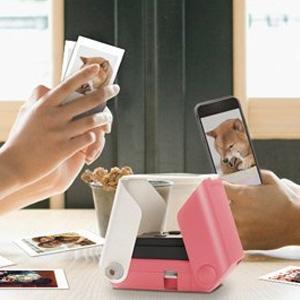 日本Takara Tomy Printoss 相片列印机 粉色