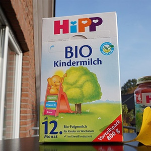 HiPP喜宝 有机系列 婴幼儿配方奶粉 1+段 800g*4盒