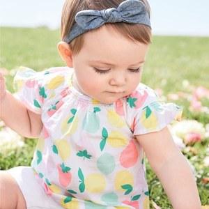 Carter's卡特官网春夏新款童装低至5折+最高额外7折促销