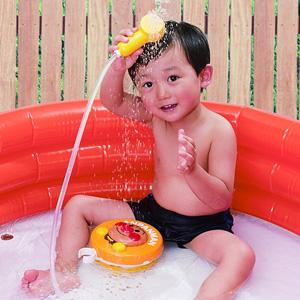 新版 面包超人 儿童淋浴花洒玩具