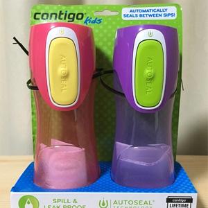 Contigo康迪克 Autoseal Trekker 儿童防漏水杯400ml*2个