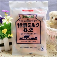 UHA悠哈北海道8.2味觉糖/特浓牛奶糖 105g*6袋