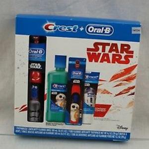 降价!Oral-B 星球大战儿童电动牙刷套装(电动牙刷+牙膏+漱口水)