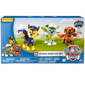 Paw Patrol 狗狗巡逻队 变形玩偶 3个装