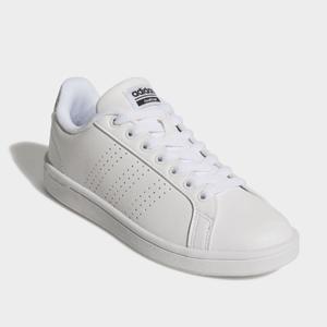 adidas Cloudfoam Advantage Clean 女鞋白色
