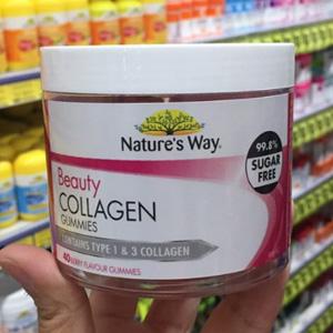 Nature's Way佳思敏 水解胶原蛋白软糖 40粒