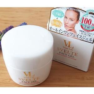 日本venus lab svelte 免洗V脸按摩膏 提拉紧致瘦脸霜