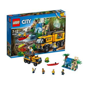 LEGO乐高 60160 城市系列 丛林移动实验室