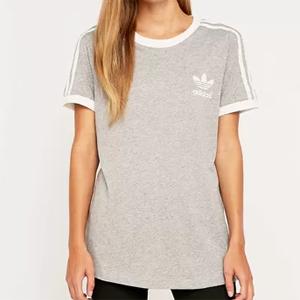 adidas 阿迪达斯3-Stripes 女士T恤售价降至$19.99