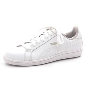 PUMA大童款SMASH FUN白色板鞋