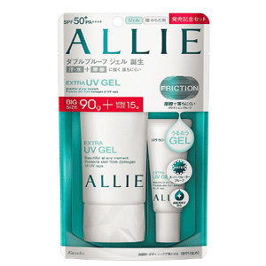 ALLIE嘉娜宝新版 绿色矿物保湿 防晒套装90g+15g